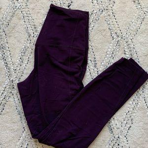 Purple Nike Leggings
